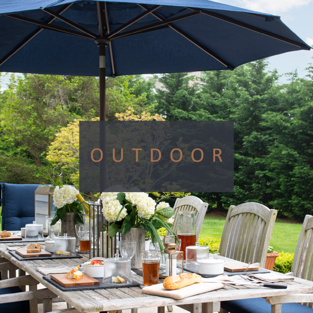 Shop our collection of essentials for outdoor entertaining.